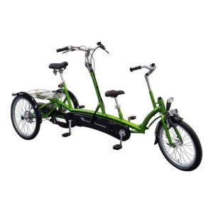 Kivo Plus Nielsen Concept, vélo adapté tandem familial