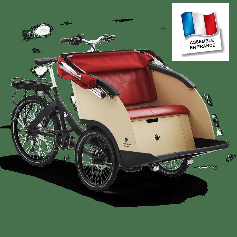 vélo Senior assemblé en France par Nielsen Concept