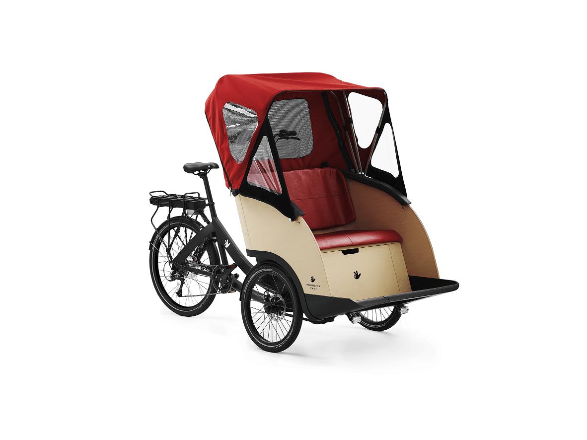Velo taxi Triobike assemblé en France par Nielsen Concept