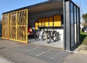 Mobilypod - Abris à vélo sécurisé