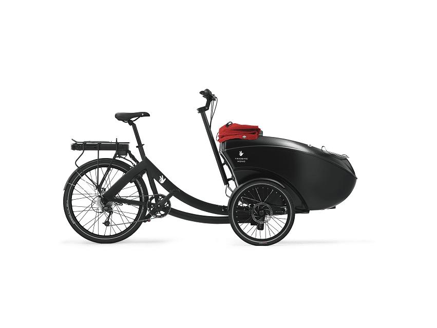 Triobike cargo mono noir