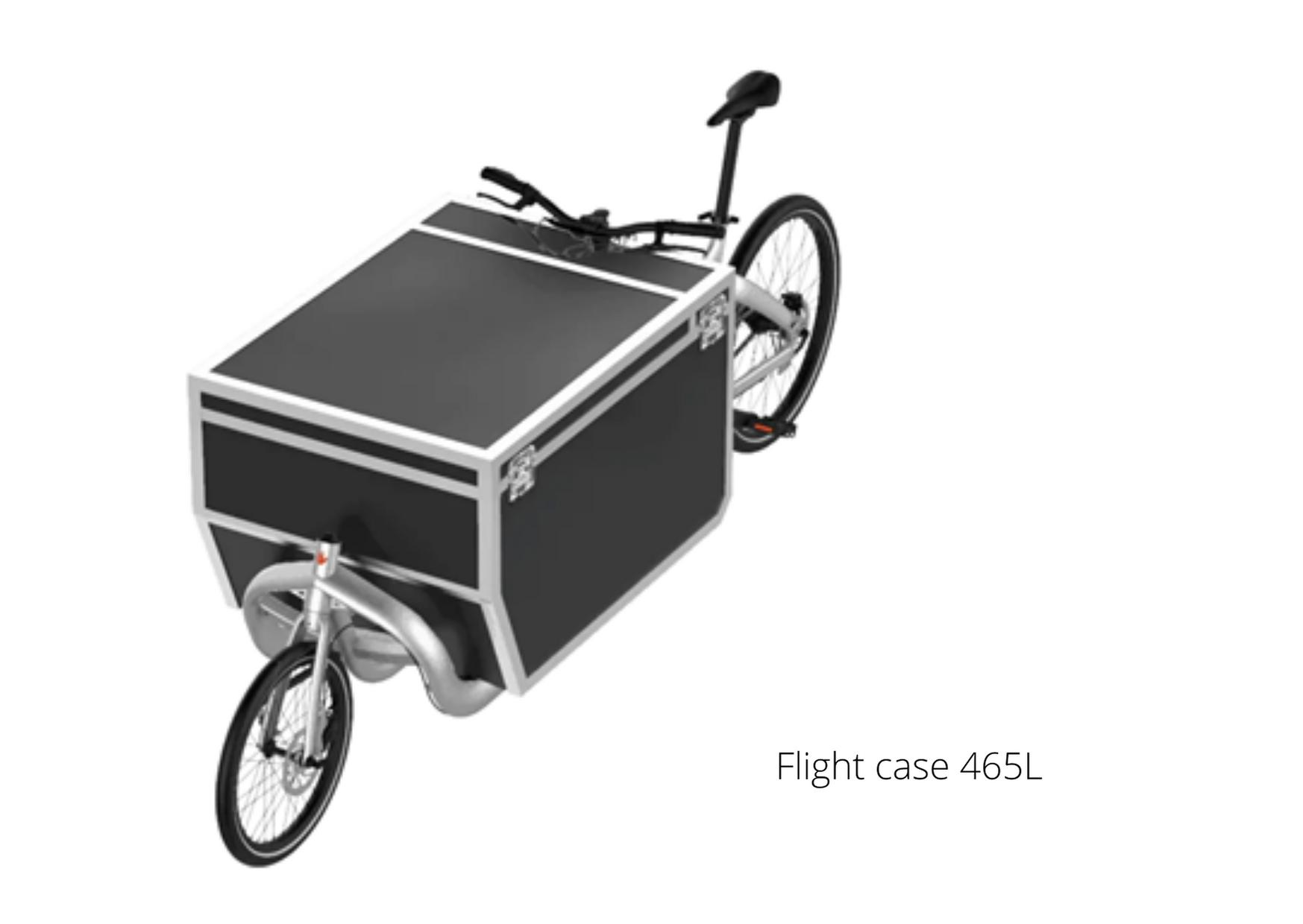 Vélo cargo Triobike avec caisse